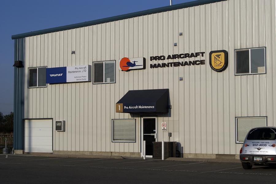 Pro Aircraft Maintenance Office at Boundary Bay Airport